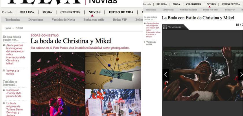 Telva Novias publica una de nuestras bodas
