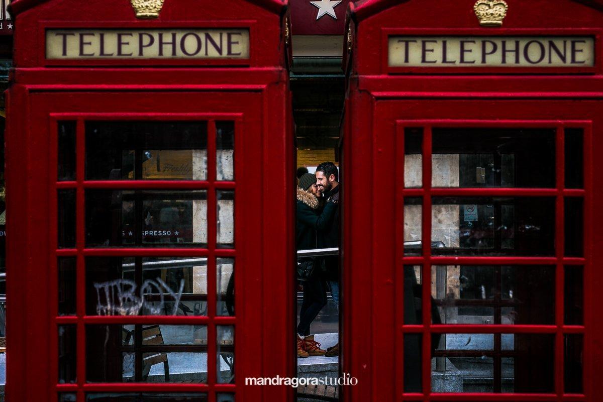 Post boda en Londres