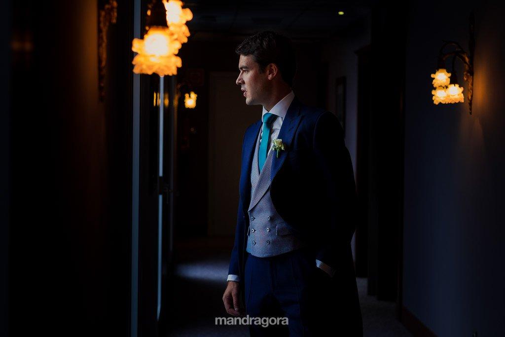 retrato de boda en mirador de ulía