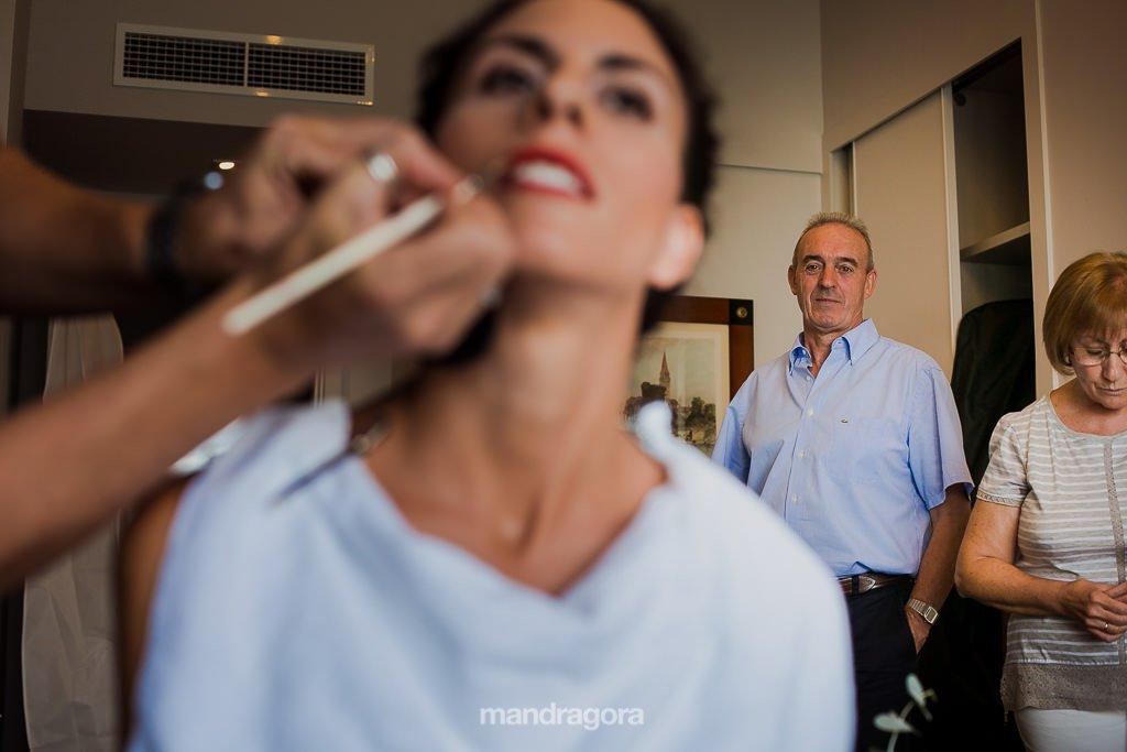 makeup de boda en mirador de ulía