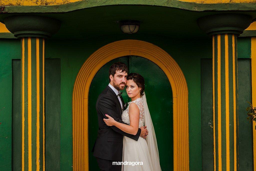 Boda en Gudamendi y fotos de pareja en parque igueldo