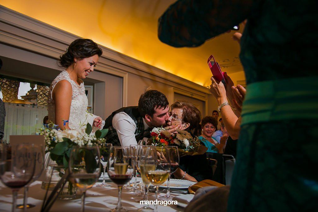 Fotos de boda en Hotel Gudamendi de San Sebastián