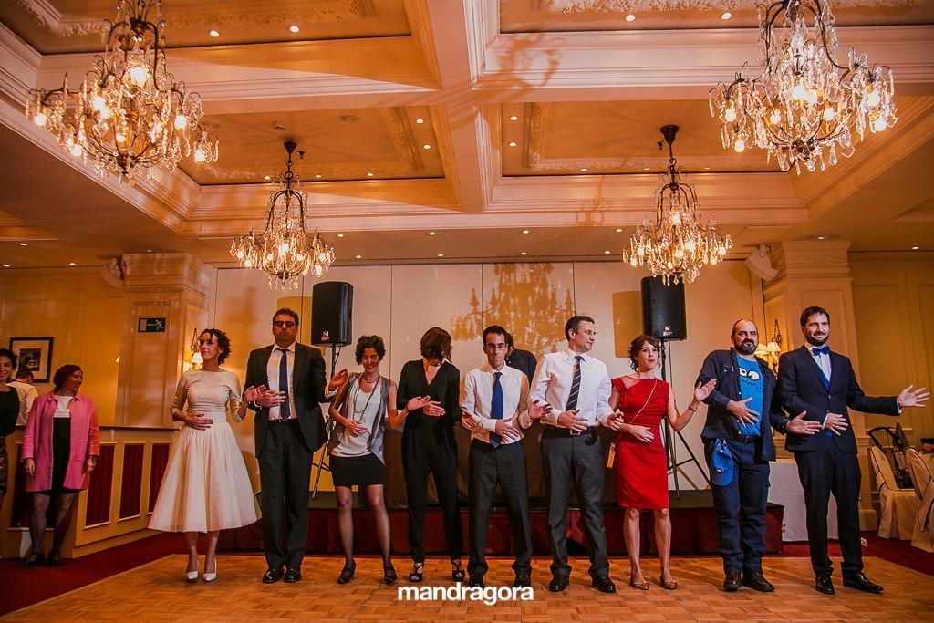 Baile en Hotel Londres de Donostia