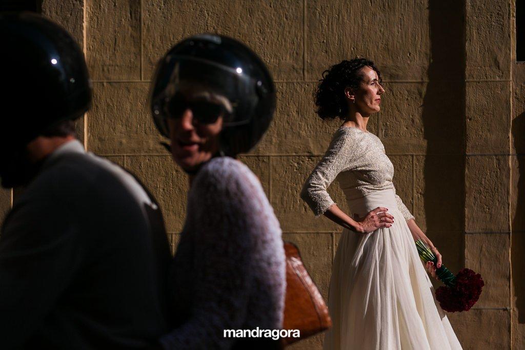 Vestido de novia. Boda en Hotel Londres