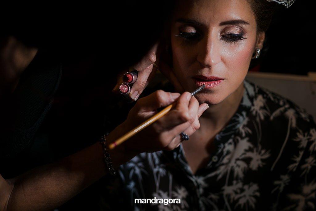 Maquillaje de boda en Donostia
