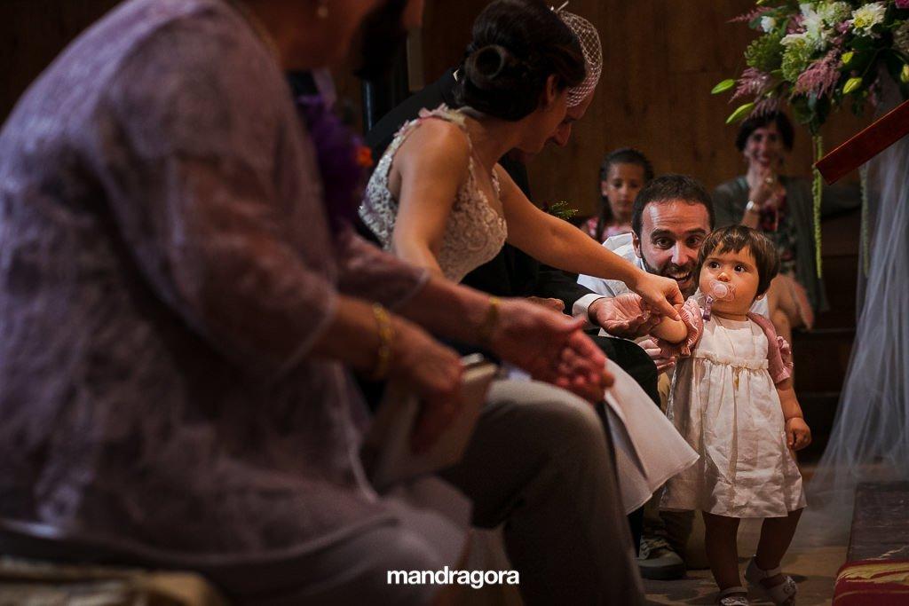 Ceremonia religiosa en Donostia