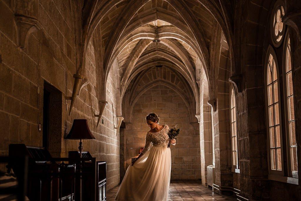 claustro monasterio del espino burgos