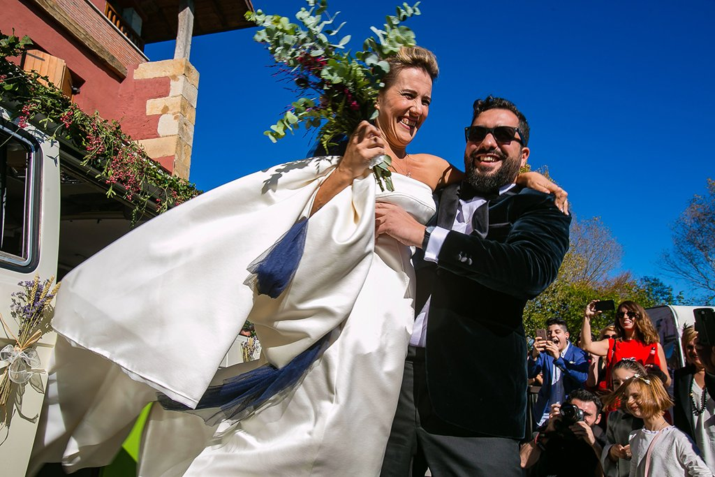 Boda divertido en el país vasco