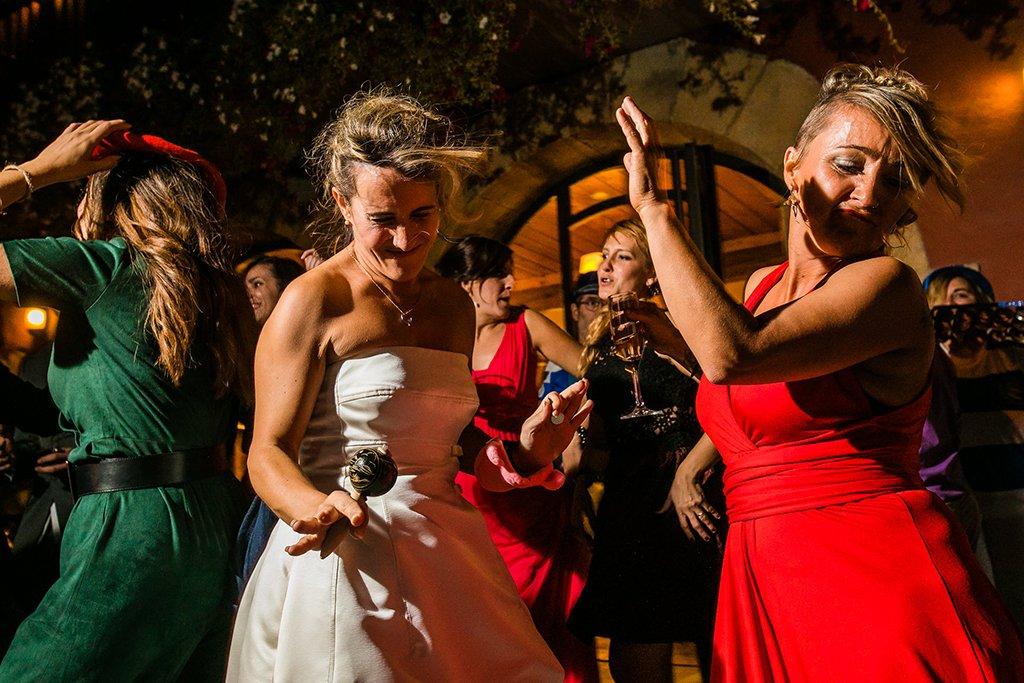 Baile. Boda en el País Vasco