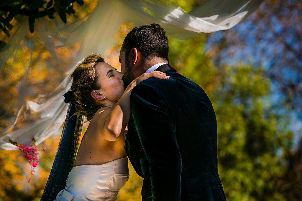 Ceremonia de boda al exterior. País Vasco