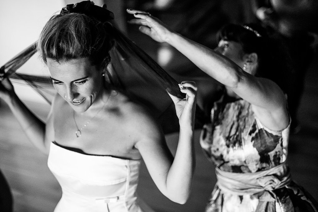 Preparativos de novia. Fotos de boda