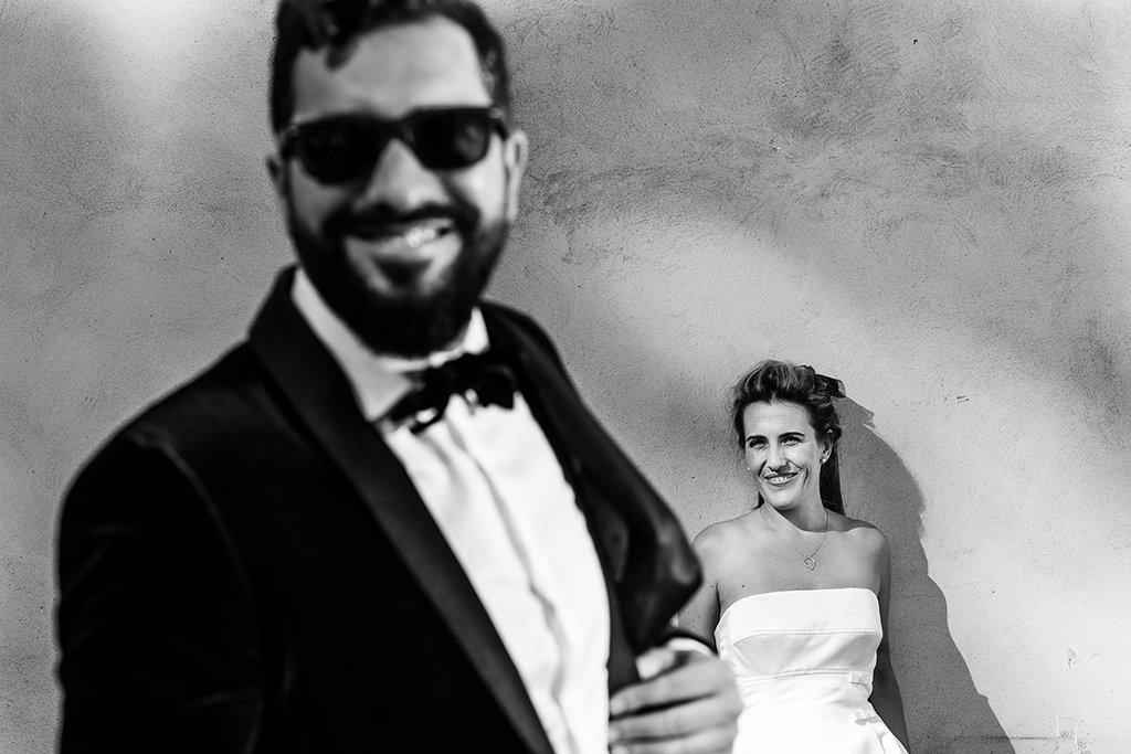 Retrato de pareja. Boda en País vasco
