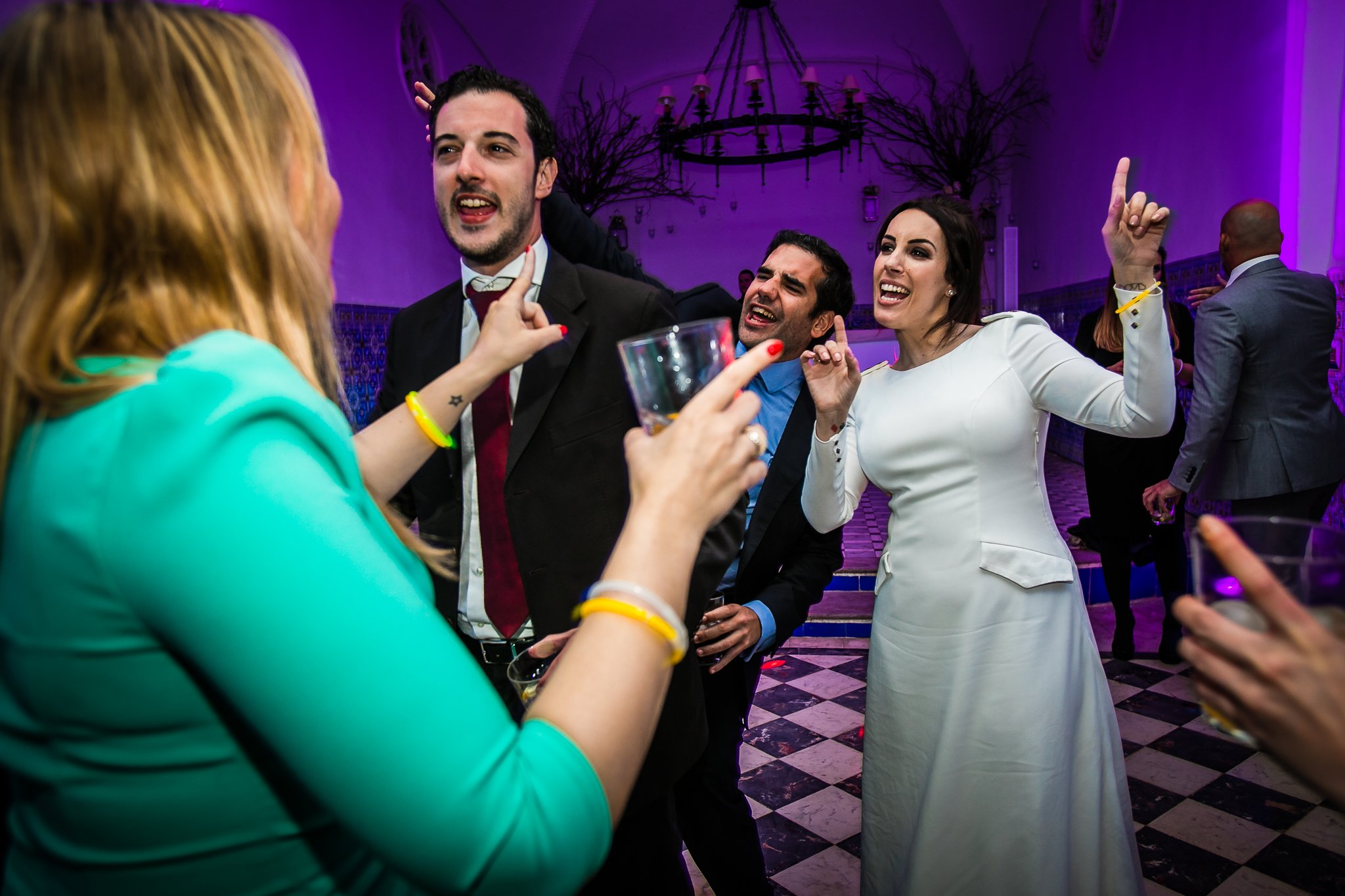 Fiesta de boda en Valencia