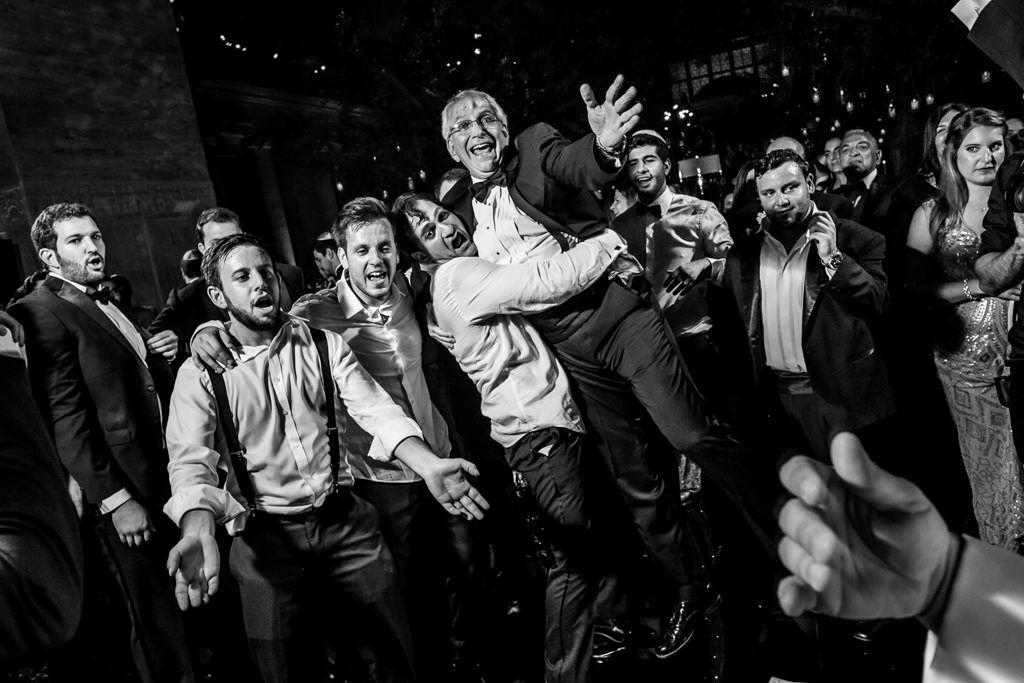 Hora. Baile judio. Boda en Nueva York