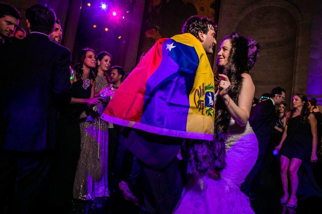 Boda Venezolana en Nueva York. Aron y Nora