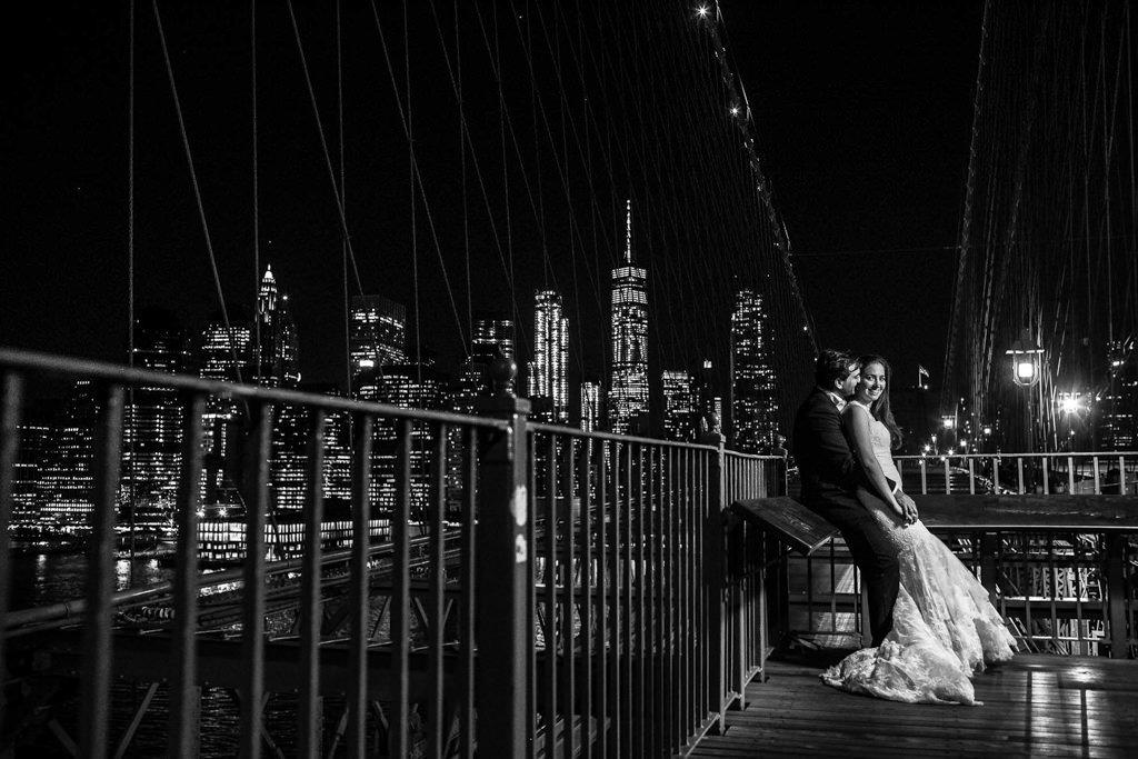 Foto de boda en Puente de Brooklyn