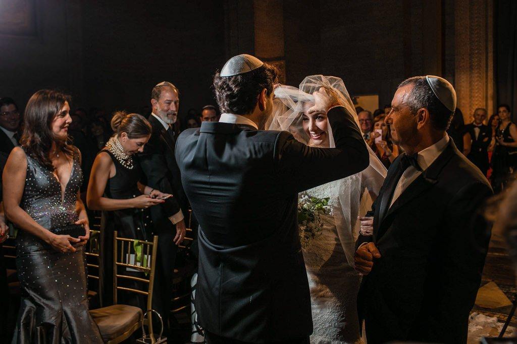 Ceremonia de boda judía en Nueva York