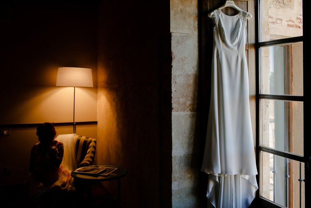 Fotógrafos de boda en Salamanca. Hotel palacio San Esteban