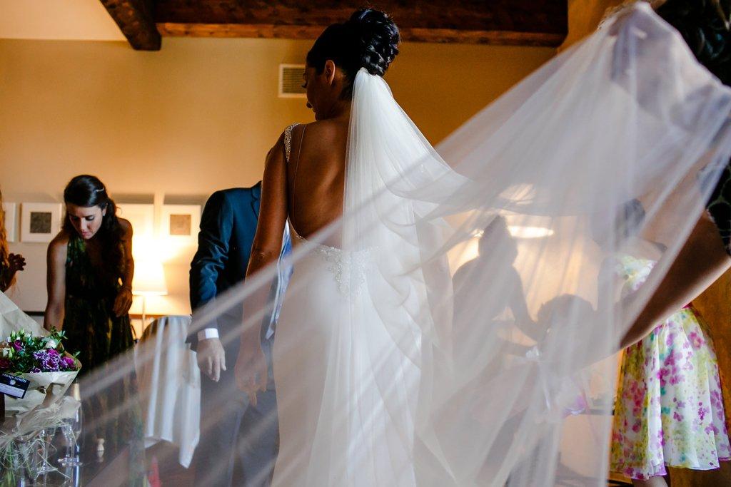 Preparativos de novia. Fotógrafos de boda en Salamanca.