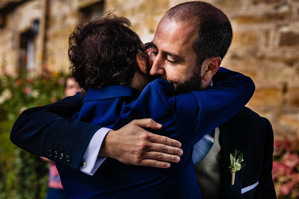 fotografos de boda en Torre Satrústegui