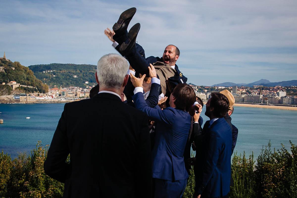 boda con vistas a la concha san sebastián