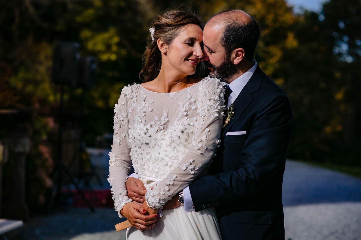 boda en torre satrústegui. fotos de pareja