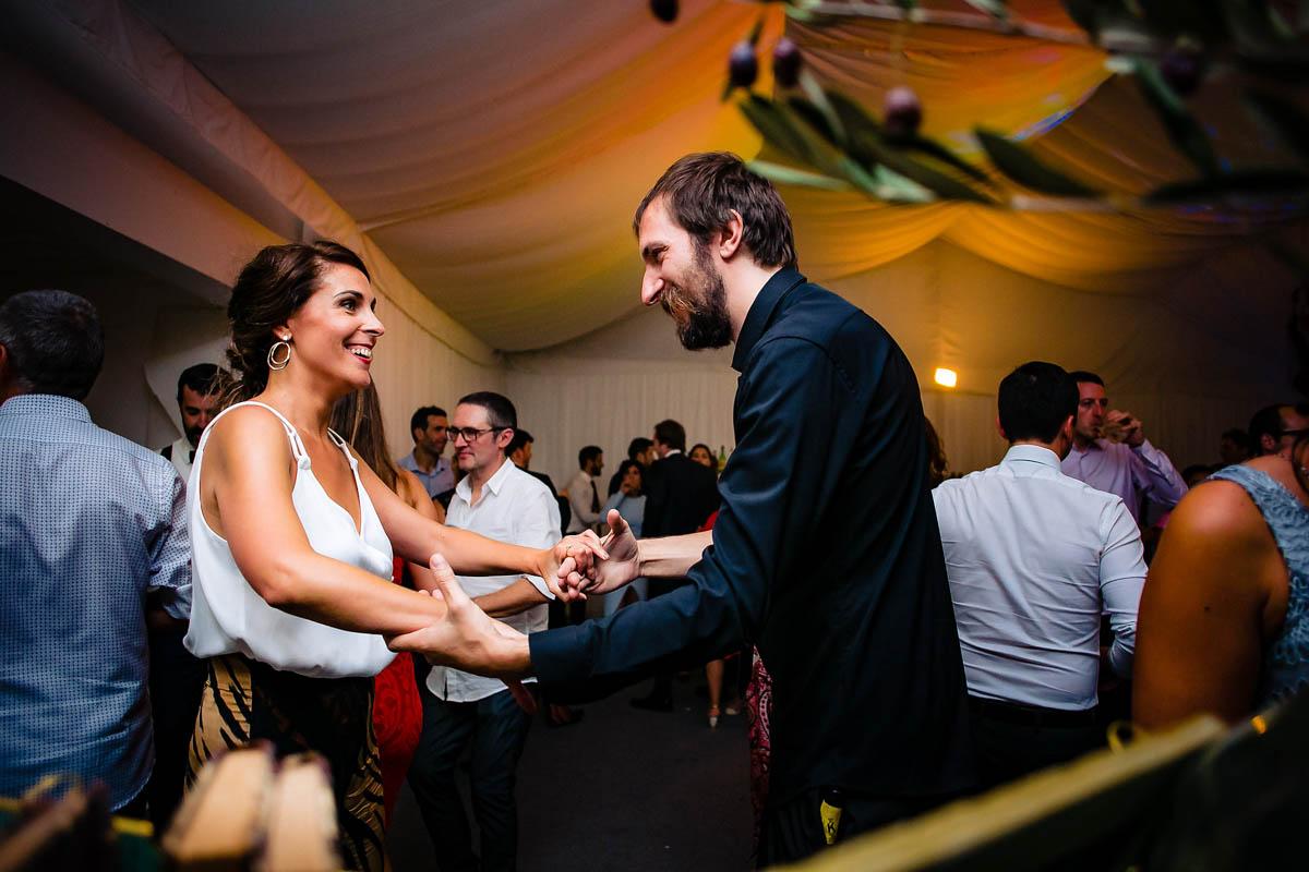 Baile de boda en Torre Satrústegui