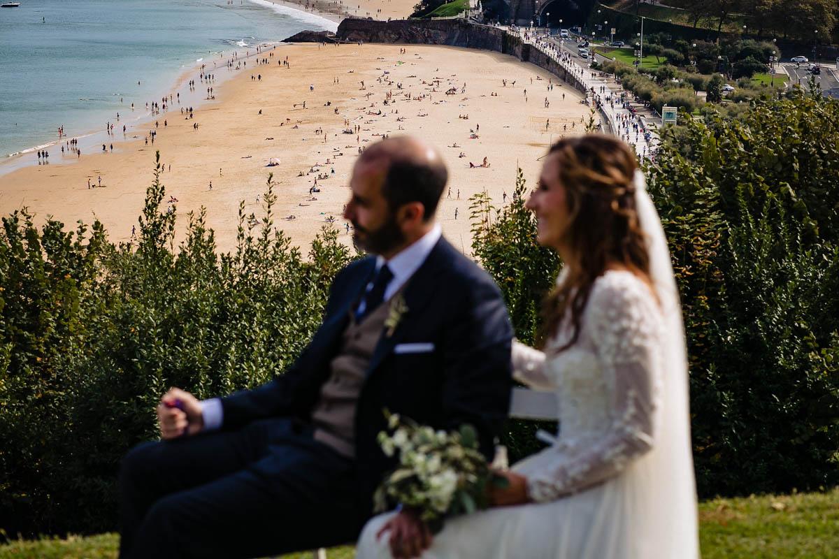 boda con vistas en san sebastián