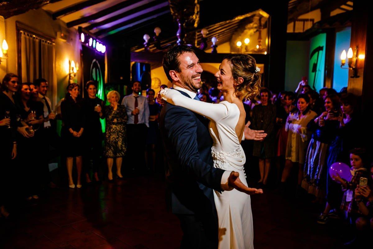 Baile de boda en Bekoerrota