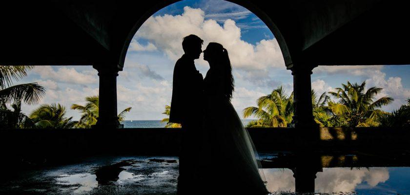 Fotógrafos de boda en Playa del Carmen (México). Vanessa & Guillermo