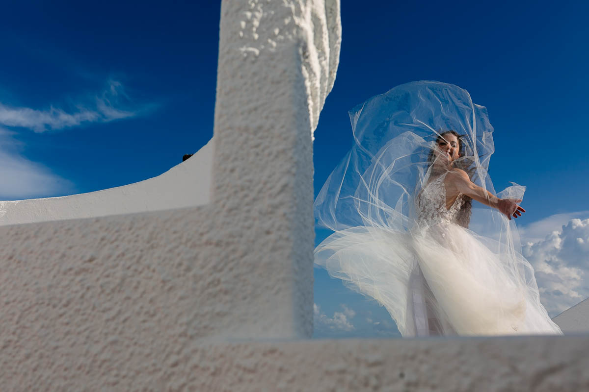 Boda en Playa del Carmen. trash the dress