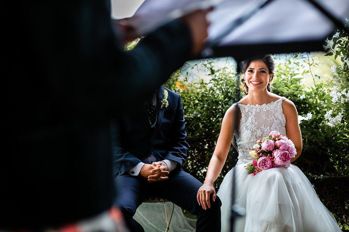 ceremonia de boda en restaurante aiala