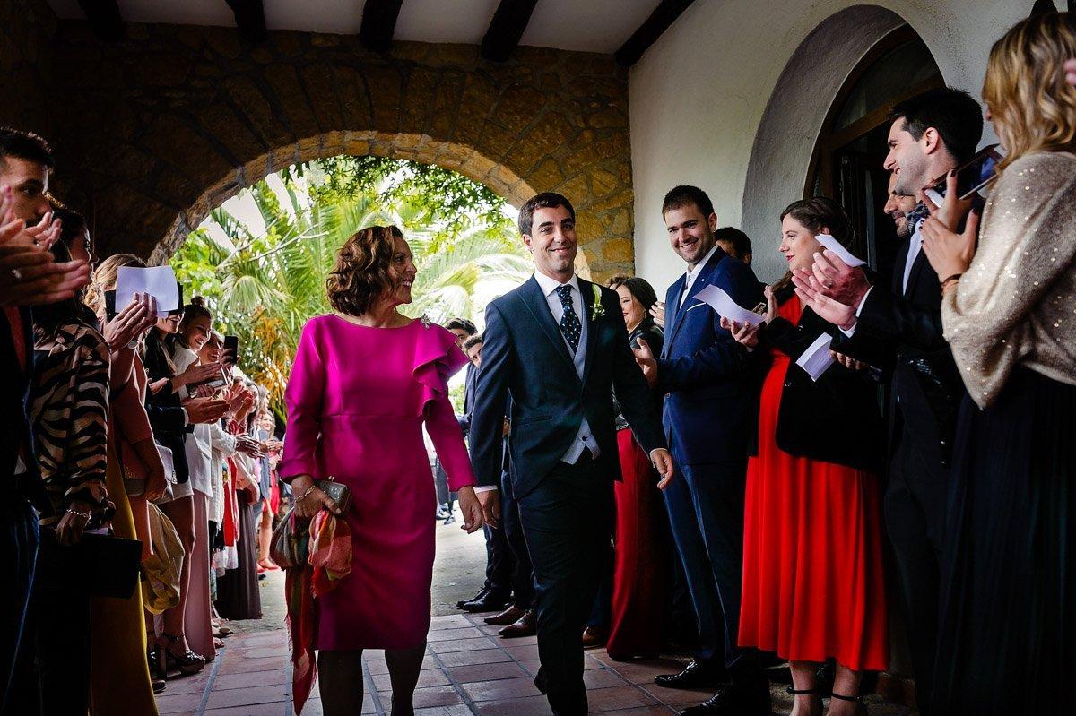 boda en restaurante aiala