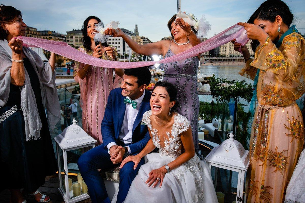 Fotos de boda en GU Donostia