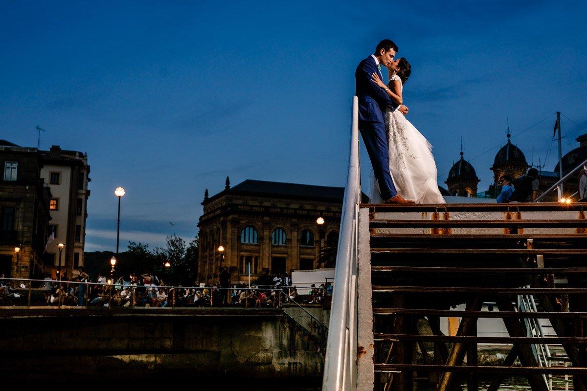 Fotos de pareja en Donostia