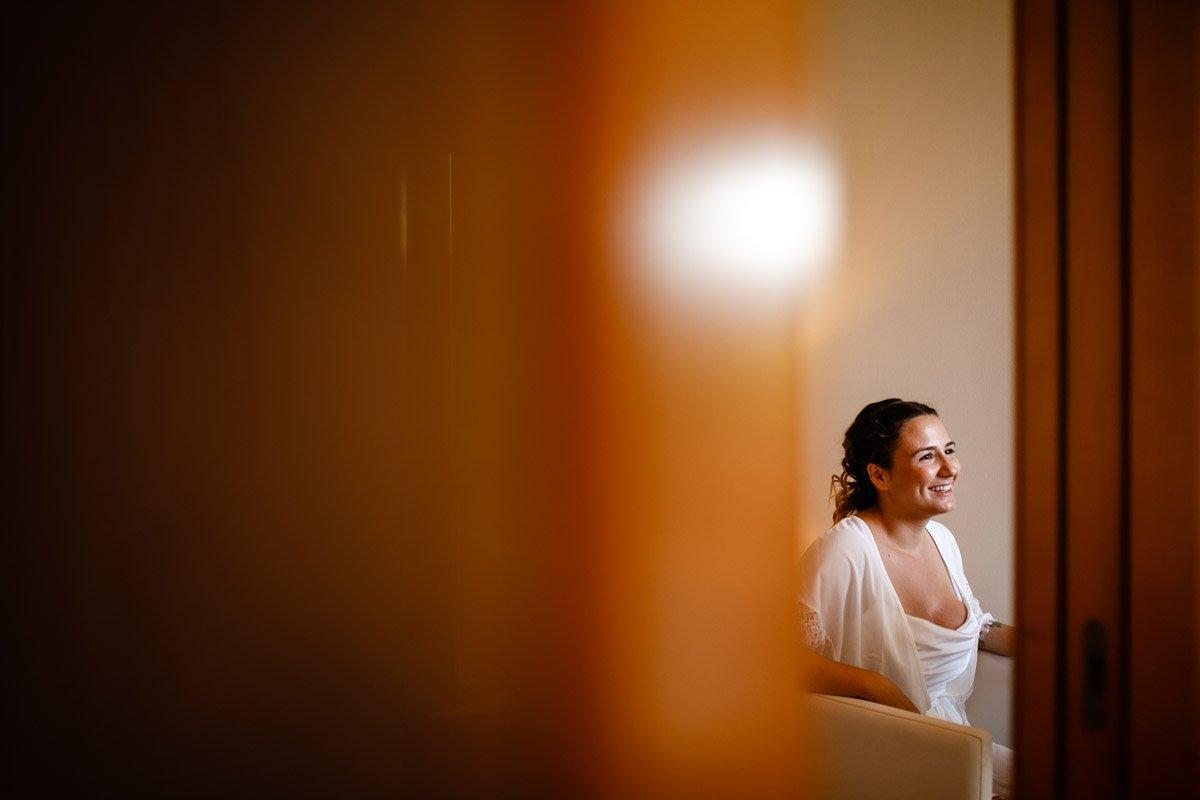 preparativos de la novia. Hondarribia