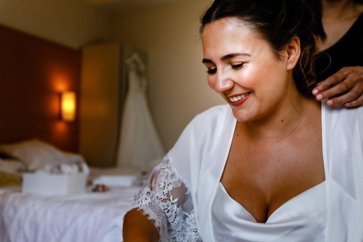 preparativos de boda en Hotel Jaizkibel