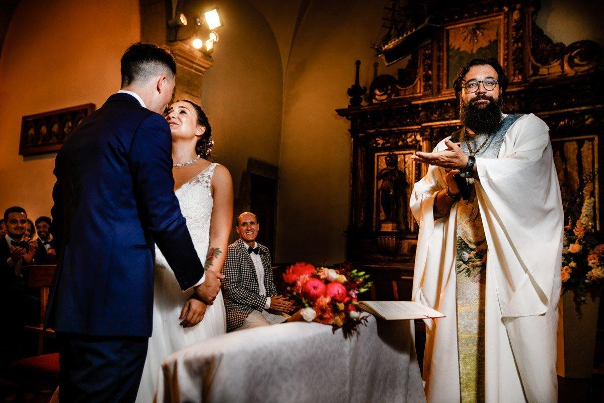 ceremonia de boda en Guadalupe, hondarribia