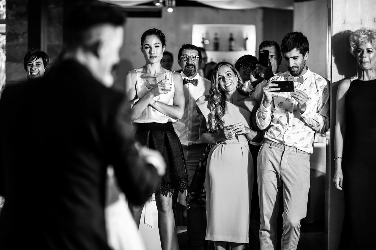 primer baile hotel jaizkibel