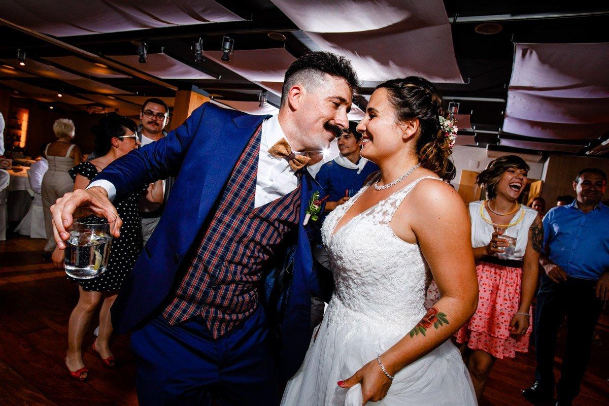 baile de boda en Hotel Jaizkibel