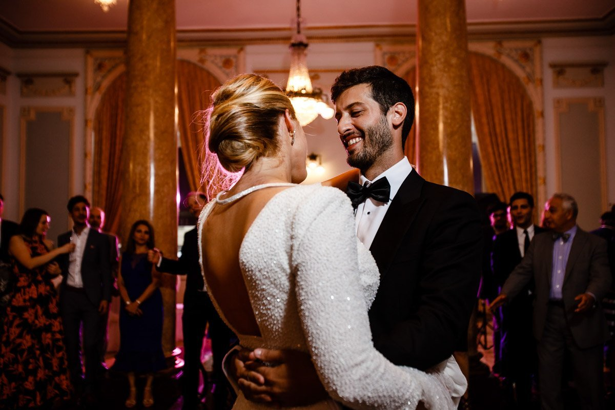 First dance in Hotel Maria cristina