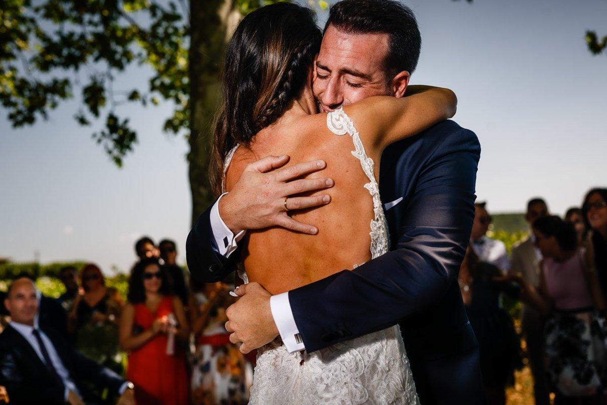 Ceremonia de boda en bodegas otazu