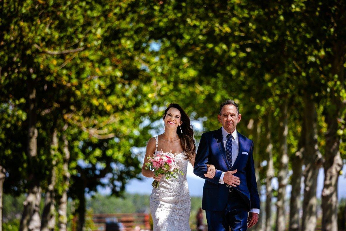 entrada de novia en otazu