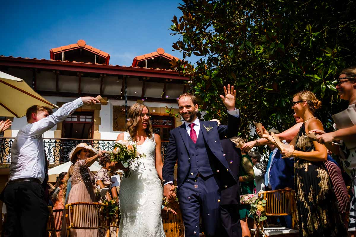 boda en caserío de Oiartzun Gipuzkoa