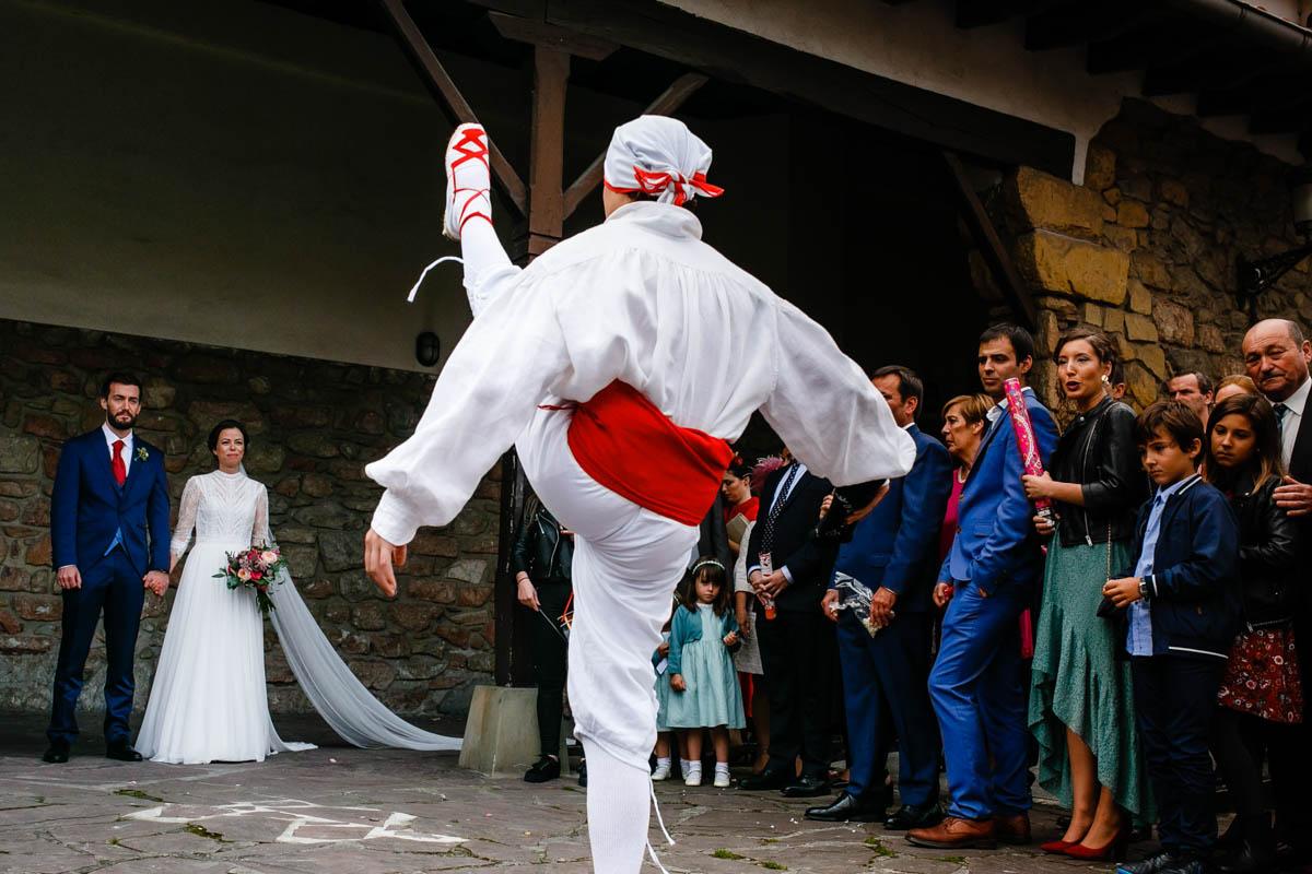 boda en iglesia de aiete