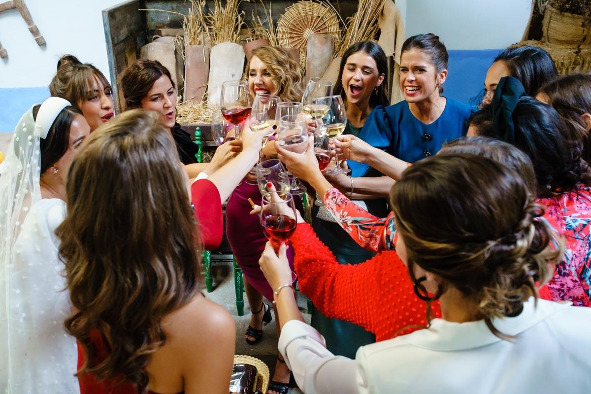 Cocktail en Finca Bauskain de Markina Xemein