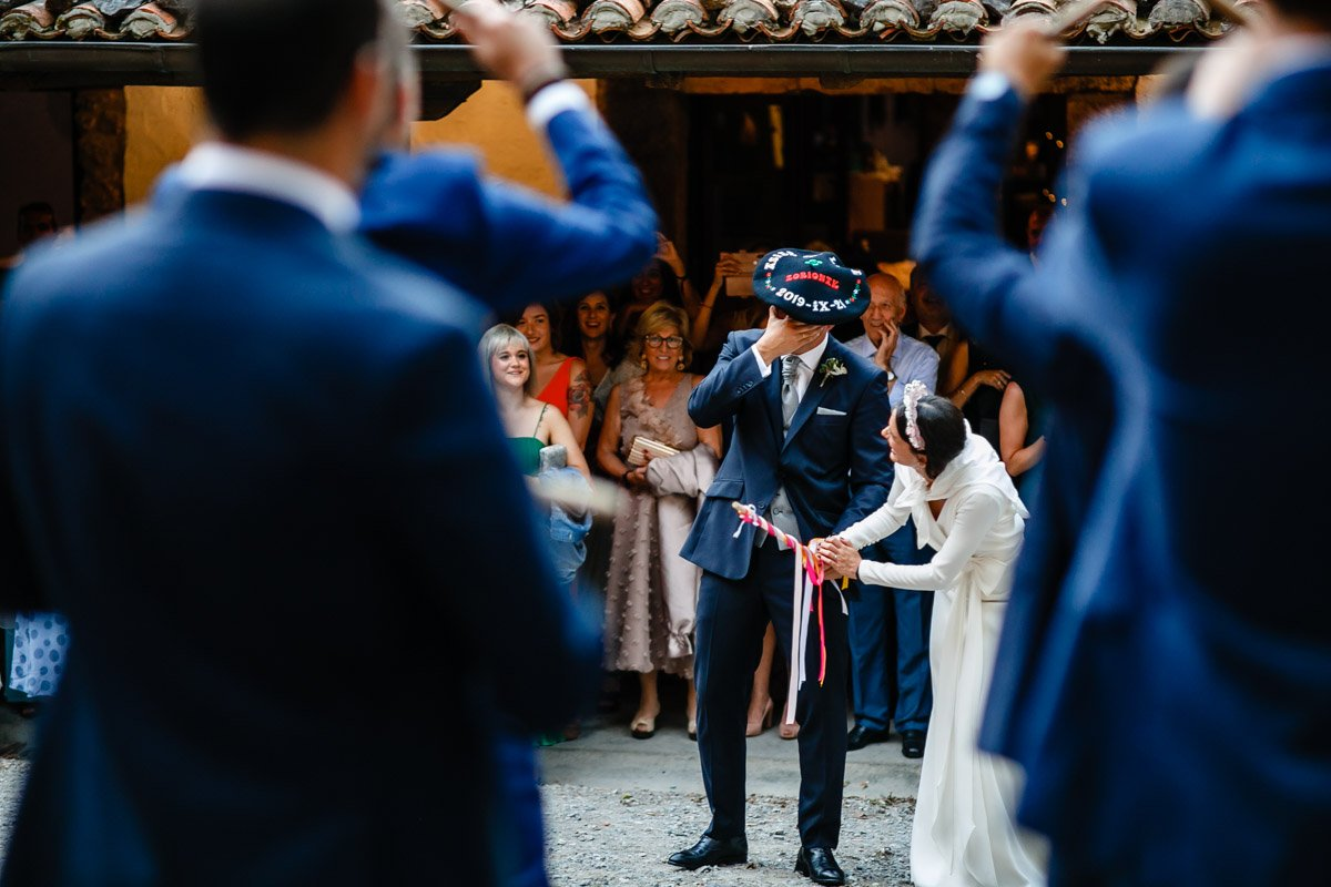Tamborrada en boda