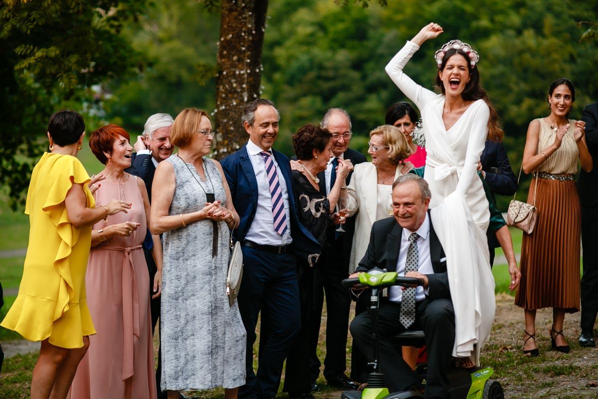 Fiesta de boda en Finca Bauskain