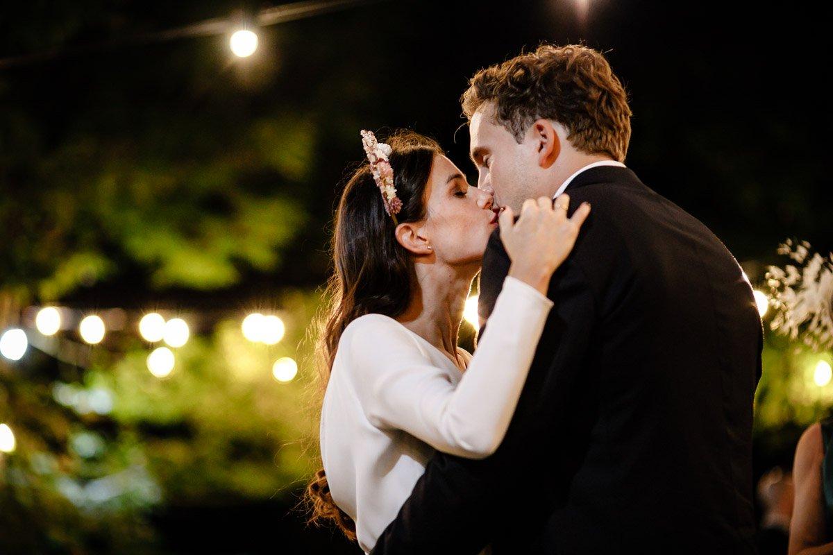 Primer baile de boda en finca bauskain